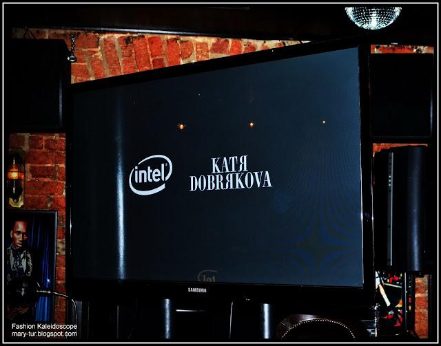 """Интерактивная футболка и проект """"Мир Кати Добряковой с Intel"""""""