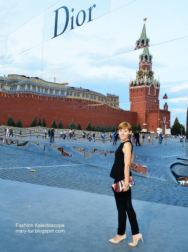 Показ Dior на Красной площади. Год 2013