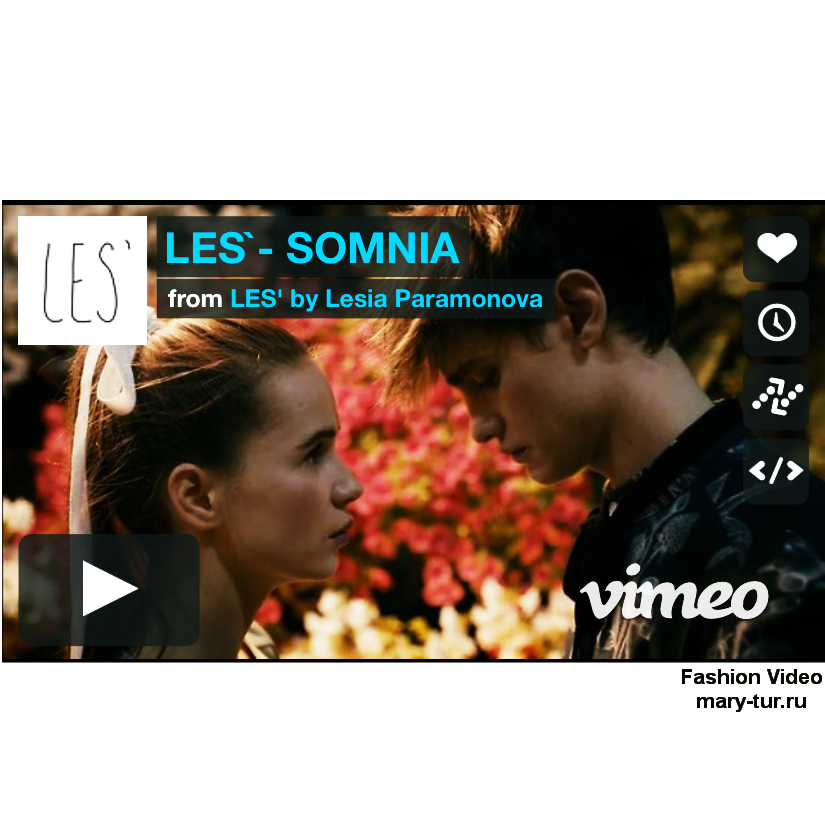 Fashion video: LES`- SOMNIA