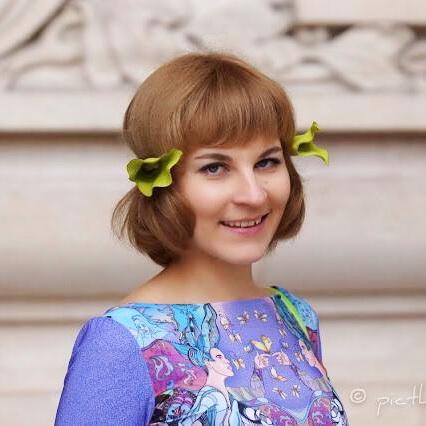 My looks: Платье Sofia Gritsyuk, головной убор Hectop
