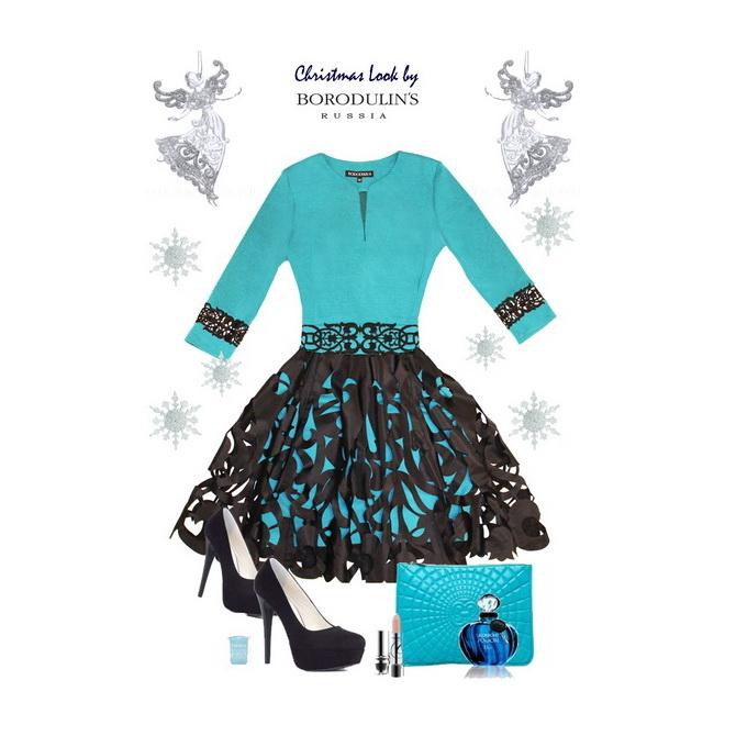 Сказка на Рождество: Коллекция коктейльных и вечерних платьев от BORODULIN'S