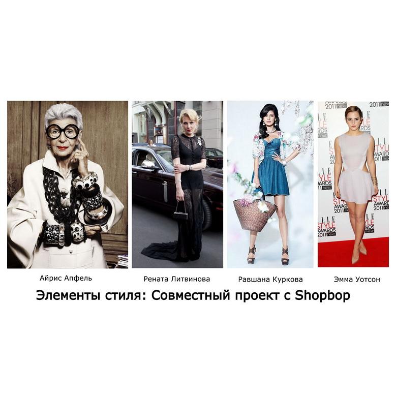 Элементы стиля: Совместный проект с Shopbop