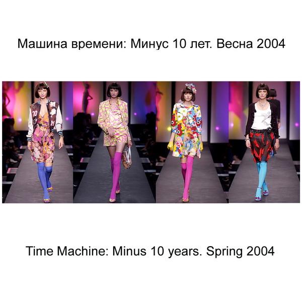 Машина времени: Минус 10 лет. Весна 2004 (Time Machine: Minus 10 years. Spring 2004)