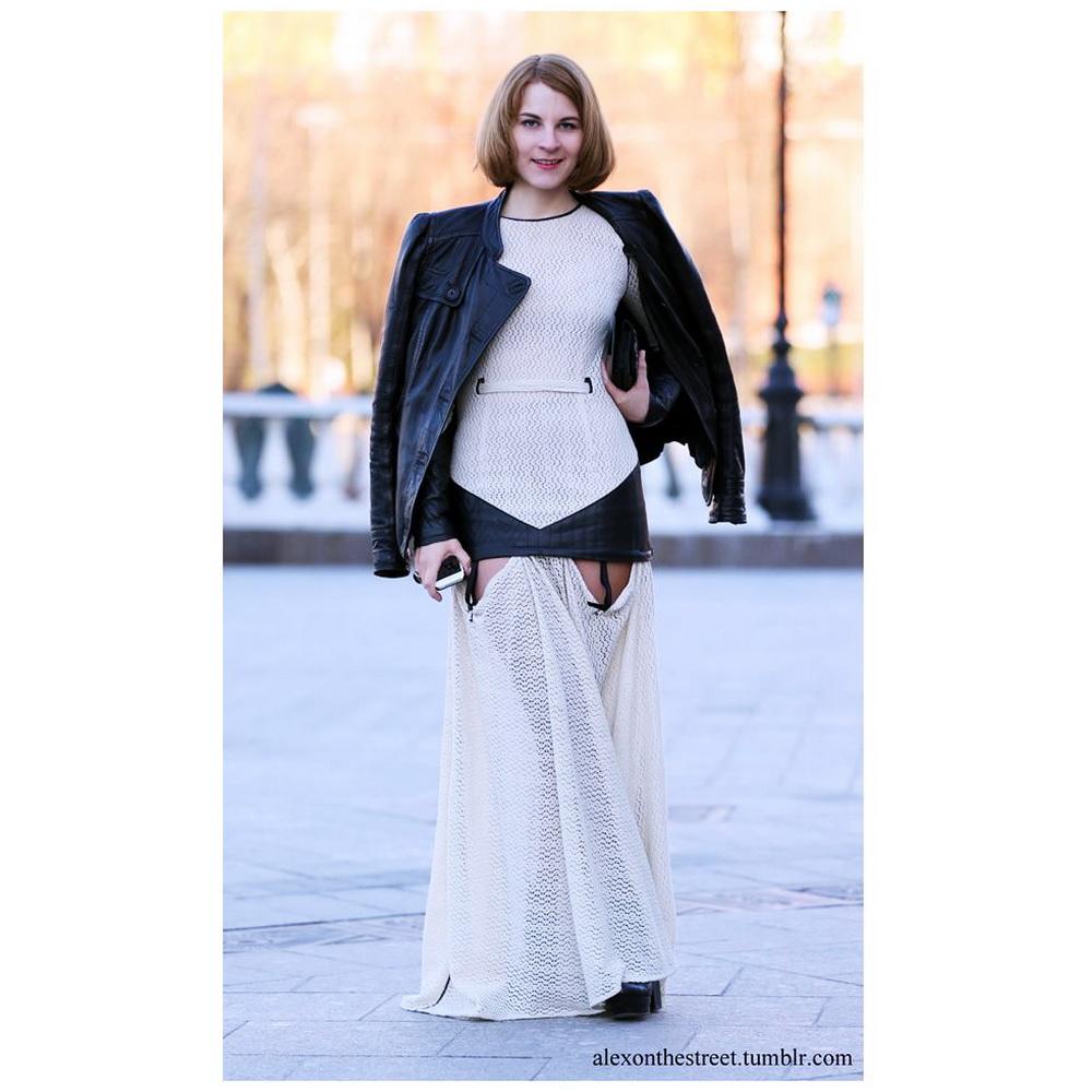 MBFWRussia: My streetstyle. Платье Svetlana Kushnerova