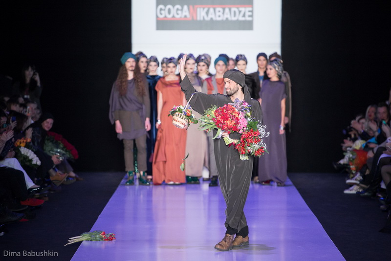 Mercedes Benz Fashion Week Russia: Goga Nikabadze, Осень-Зима 2014-2015
