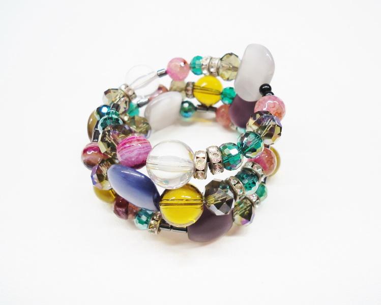 Spring mood: Новая коллекция браслетов-леденцов Diana Serebrova совместно с КафеБижу