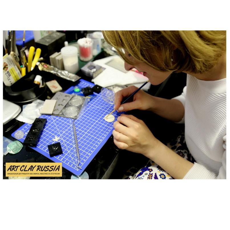 Ювелирный мастер-класс с пластичными глинами Art Clay Silver