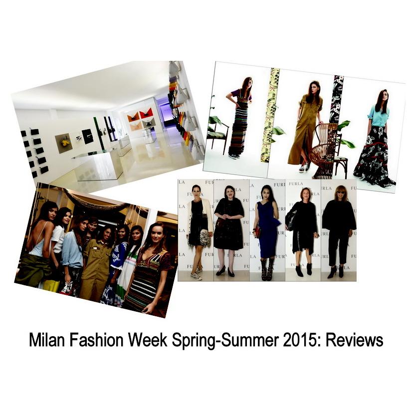 Milan Fashion Week сезон Весна-Лето 2015: Презентации Jimmy Choo, Uniqueness и Furla