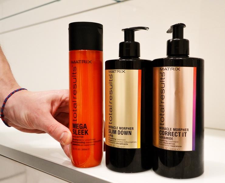 Как мгновенно восстановить волосы? Matrix Miracle Morphers