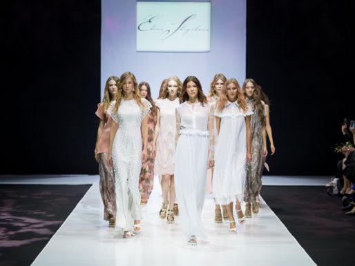Неделя моды в Москве: Елена Шипилова «Дыхание Ангелов», Весна-Лето 2017