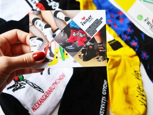 Лимитированная коллекция носков St. Friday Socks совместно с российскими дизайнерами