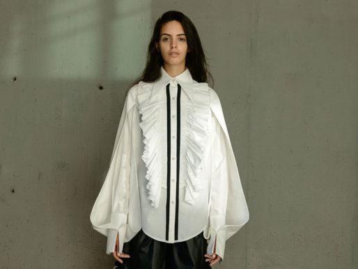 Модный гид: женская белая рубашка