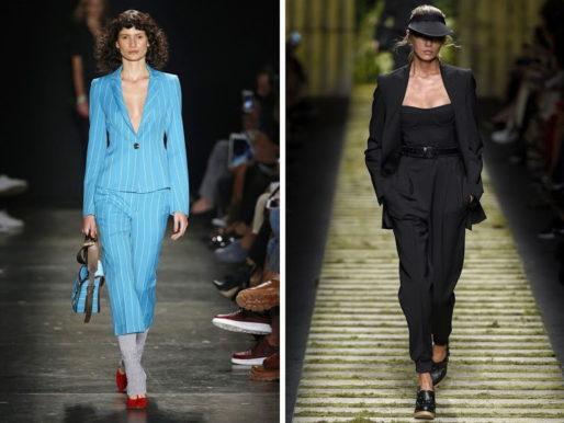 Модный гид: женские брючные костюмы