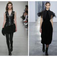 Total black: как стильно одеться во все черное