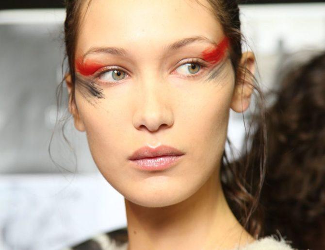 Тенденции макияжа 2017: разноцветные тени