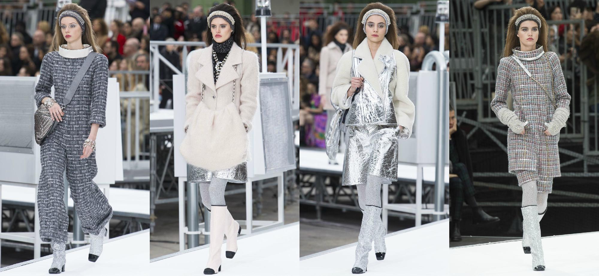 Chanel Осень-Зима 2017 Модные тенденции