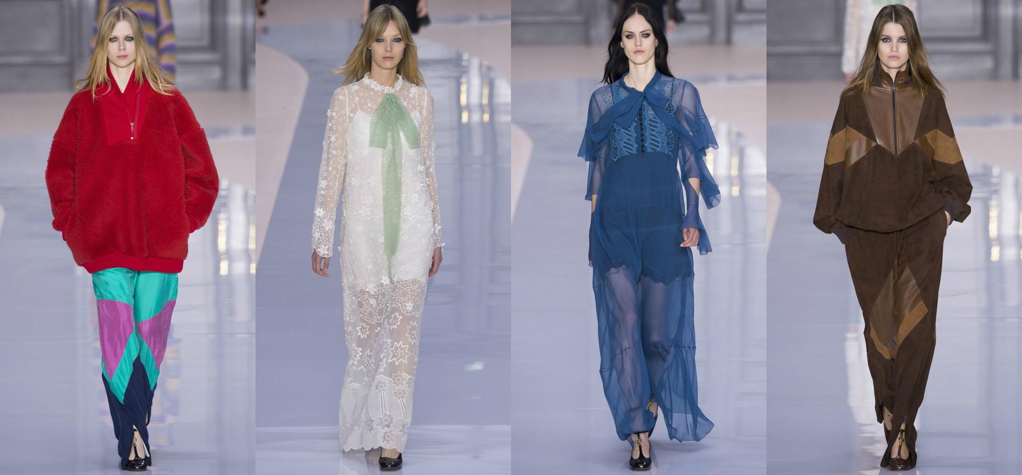 Chloe Осень-Зима 2017 Модные тенденции