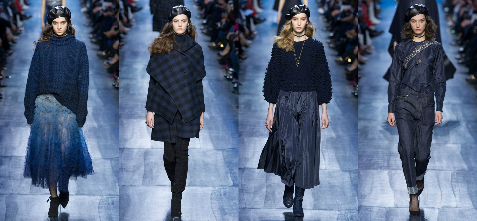 Christian Dior Осень-Зима 2017 Модные тенденции