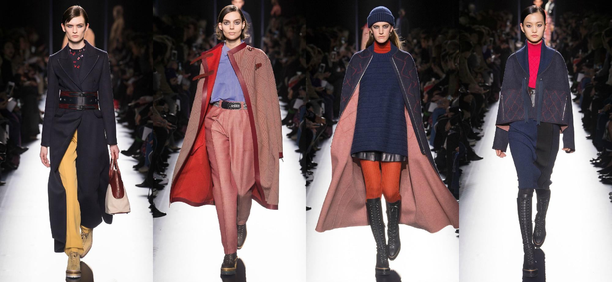 Hermès Осень-Зима 2017 Модные тенденции