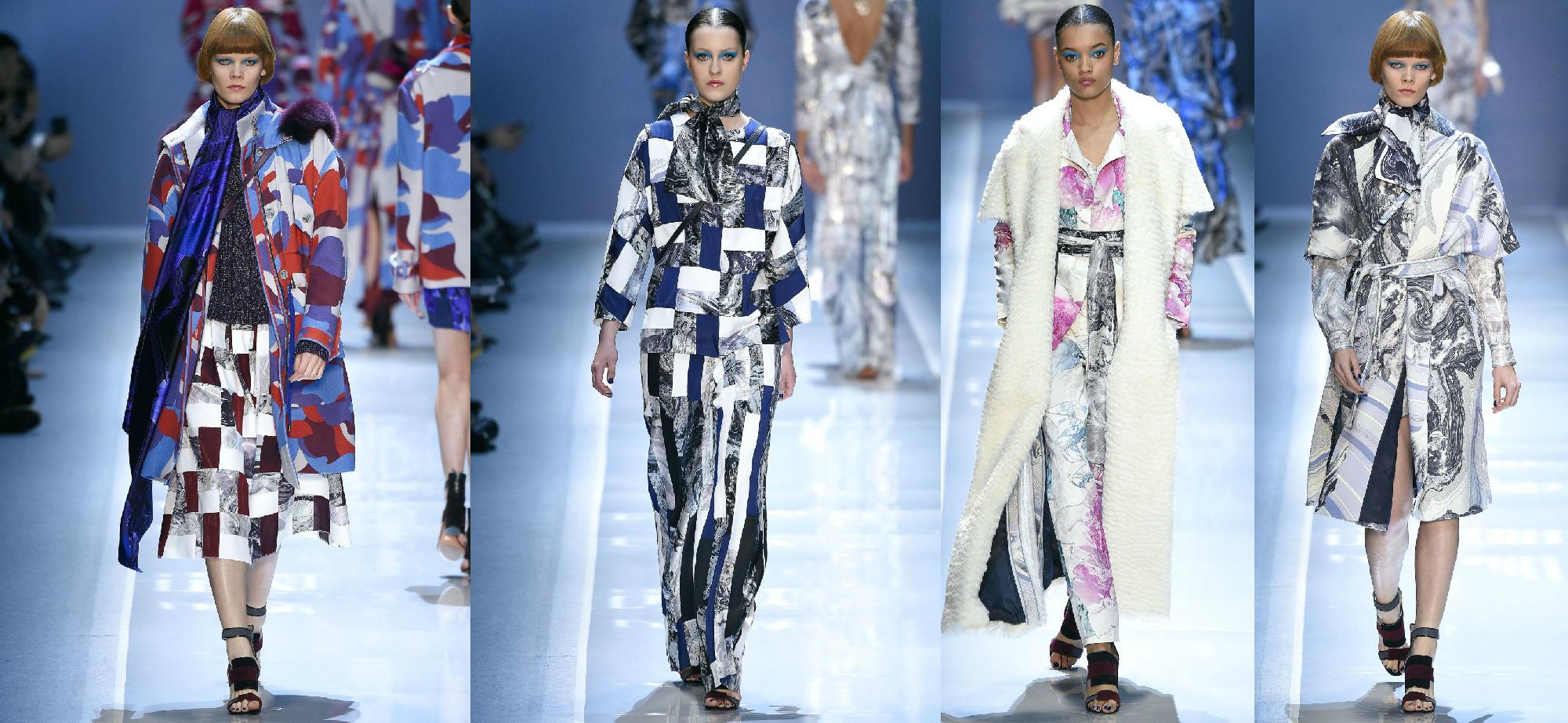 Leonard Осень-Зима 2017 Модные тенденции
