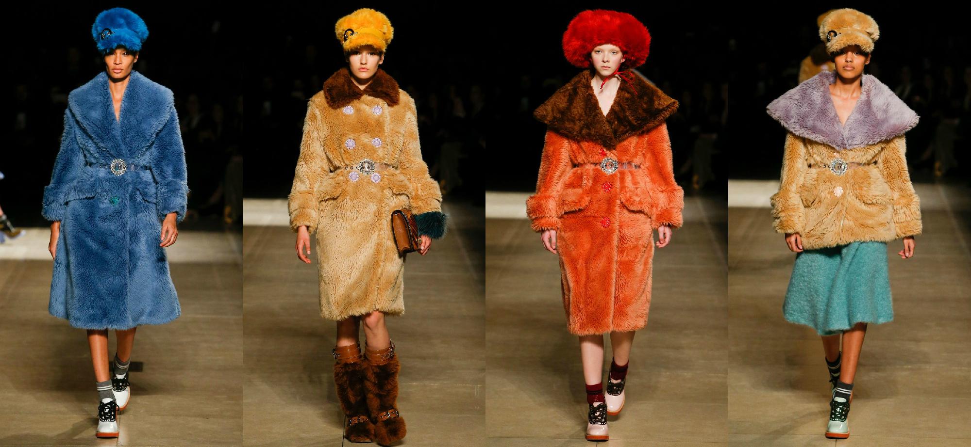 Miu Miu Осень-Зима 2017 Модные тенденции