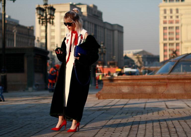 Уличная Мода Зима 2017-2018 В Москве