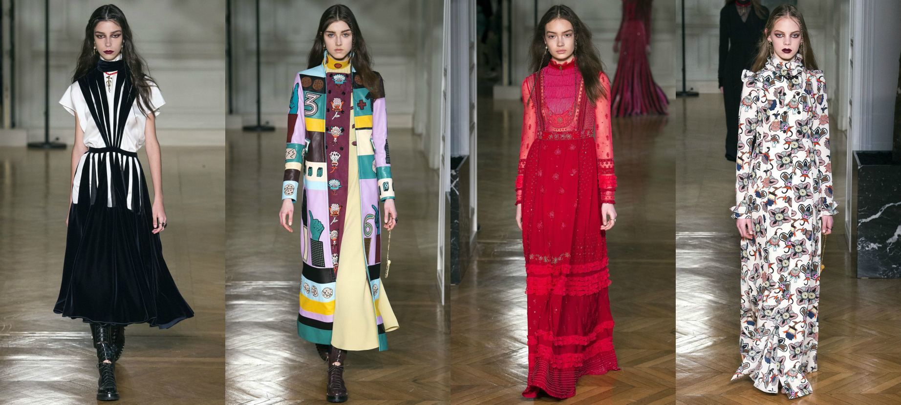 Valentino, Осень-Зима 2017 Модные тенденции
