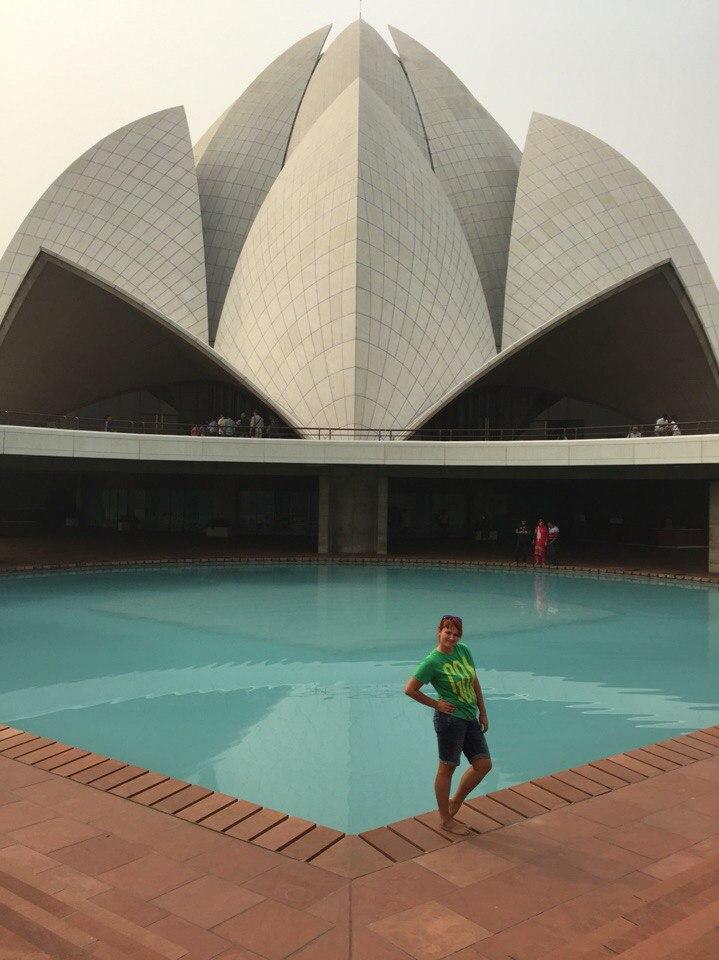 Евгения Пудикова. Индия, Дели