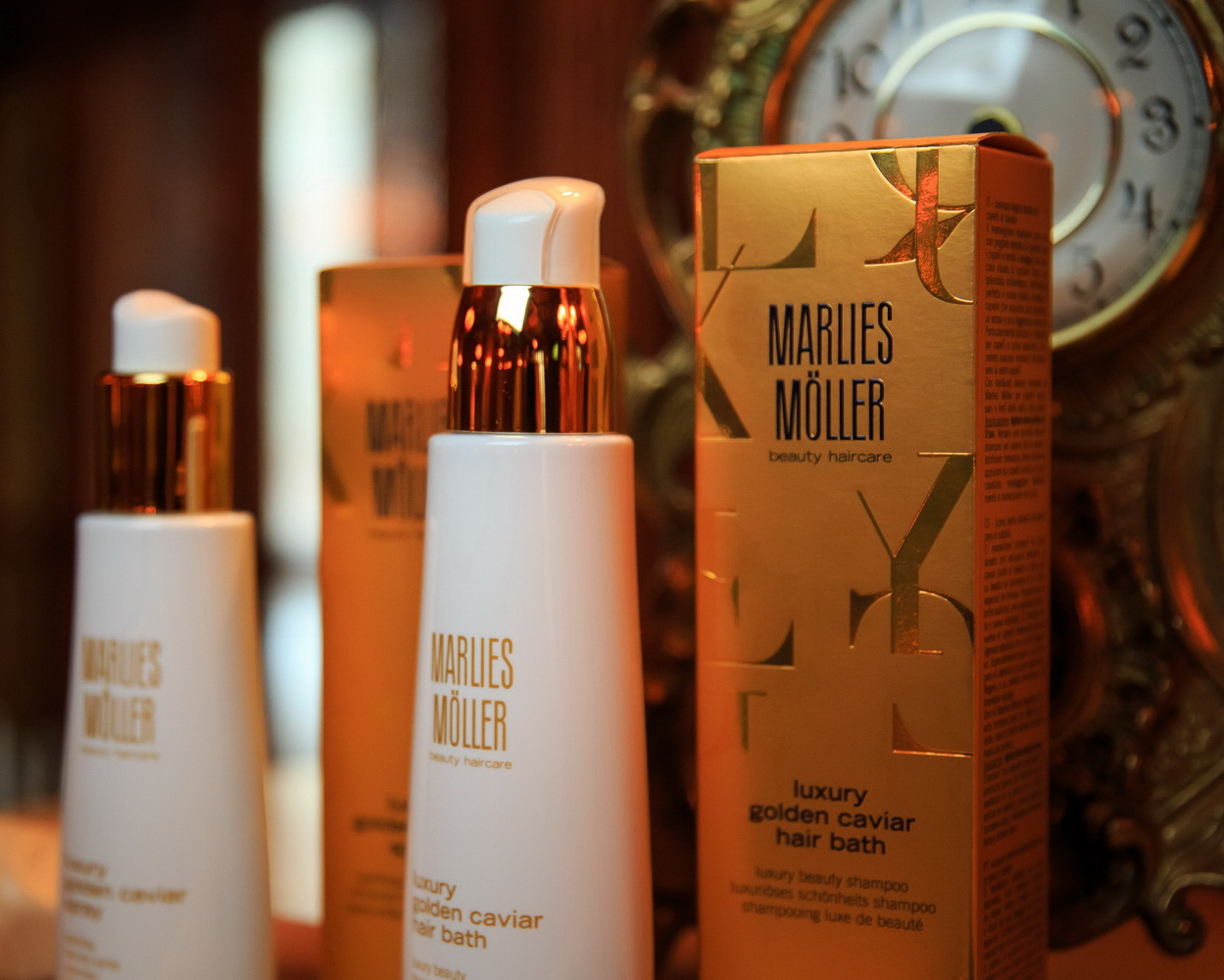 Презентация новой линии премиального ухода за волосами MARLIES MÖLLER