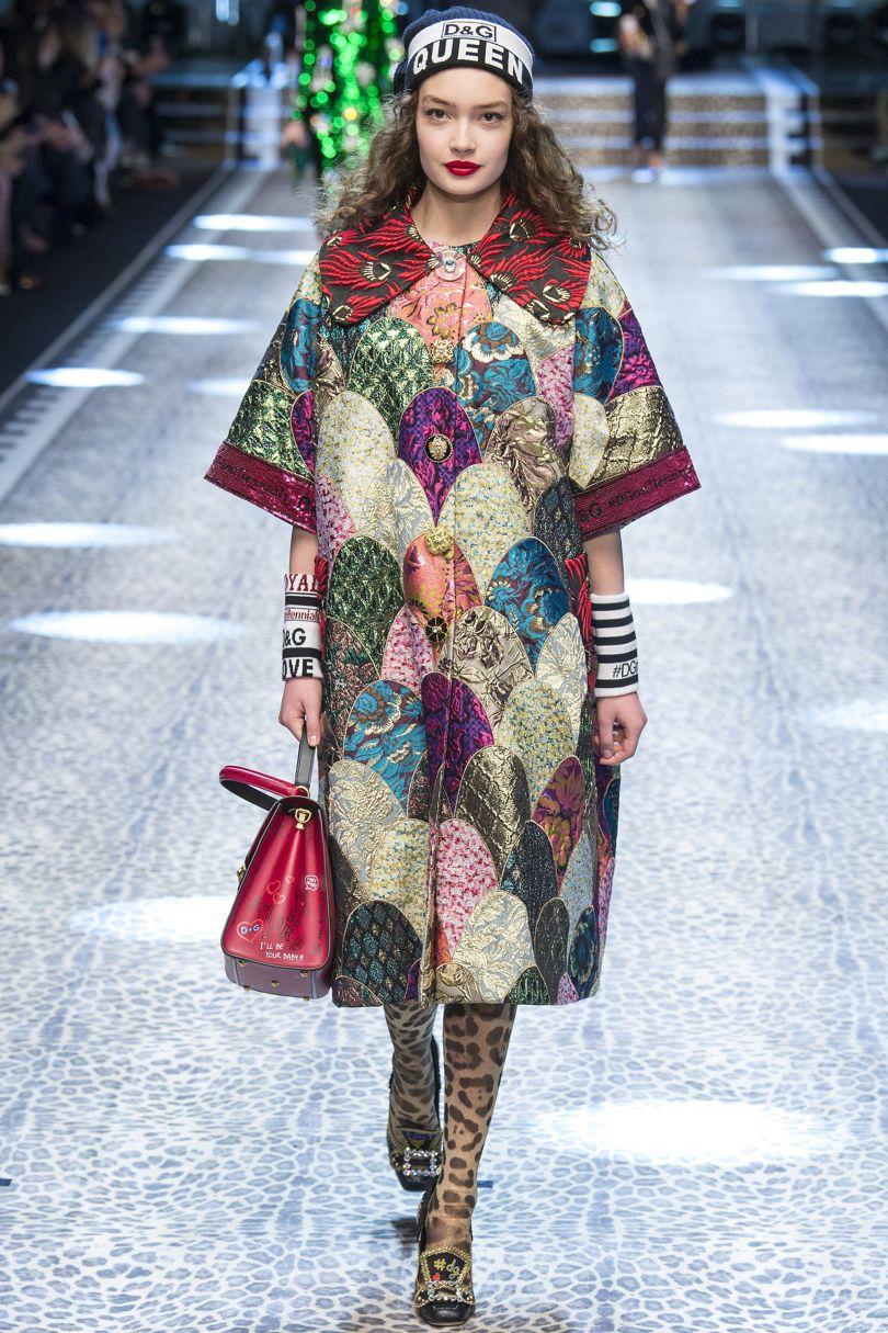 Пять главных модных тренда сезона Осень-Зима 2017/2018. Dolce & Gabbana