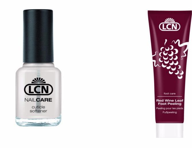 Топовые продукты для маникюра и педикюра от LCN