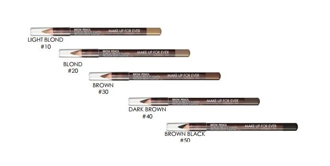 MAKE UP FOR EVER. Карандаш для бровей BROW PENCIL