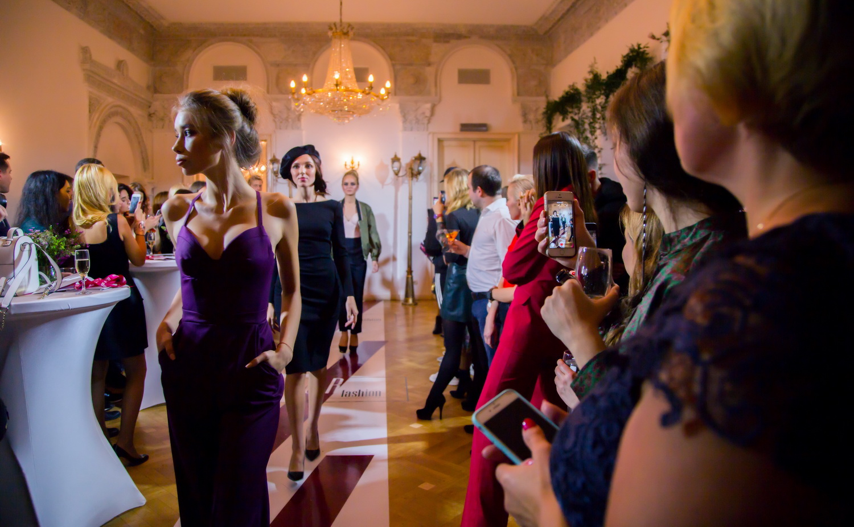 Fashion show: презентация нового бренда одежды российского производства U.R fashion