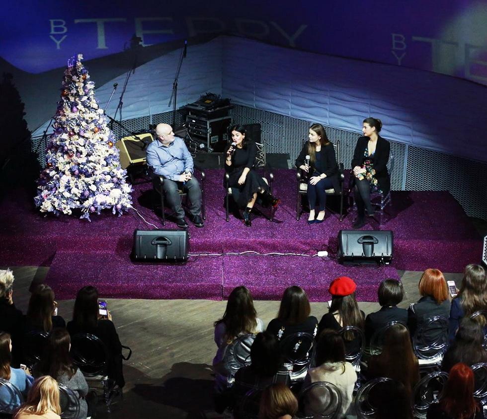 Терри де Гинзбург представила в Москве новинки сезона By Terry