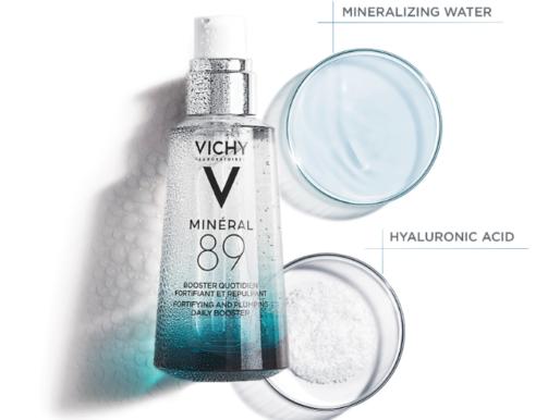 Инновация от Vichy: гель-сыворотка MINÉRAL 89