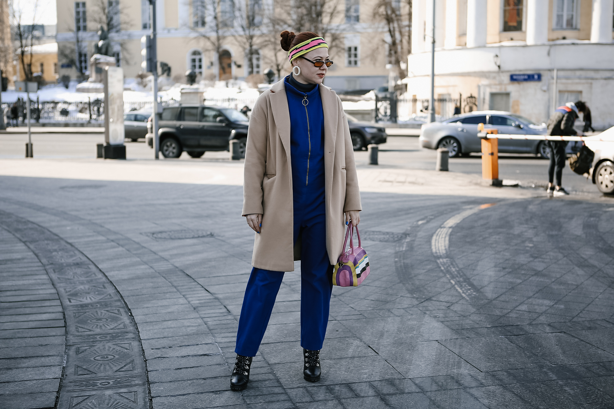 Как модно одеться на неделю моды: streetstyle c MBFWRussia