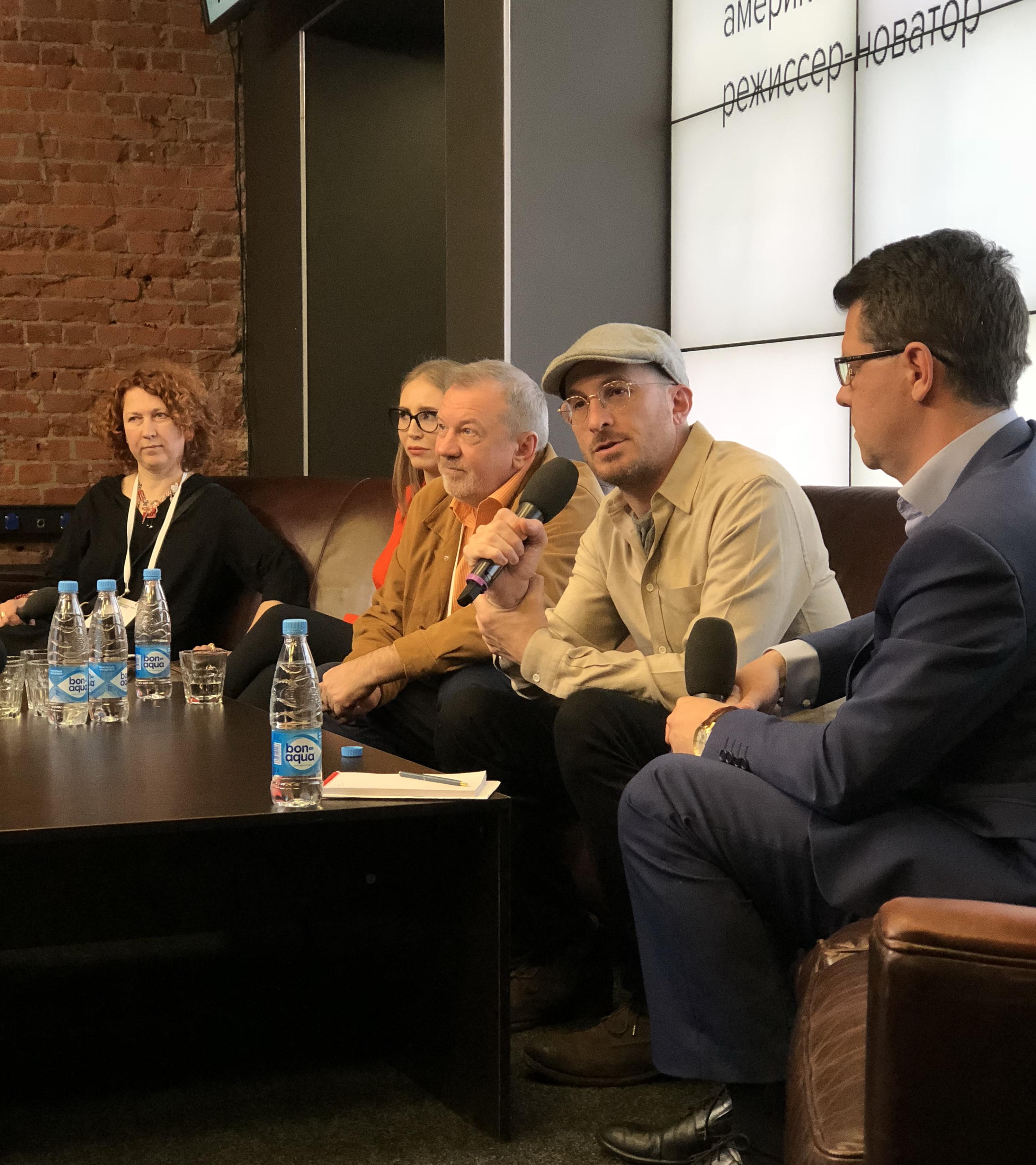 Даррен Арофонски открыл фестиваль Telling Stories Fest