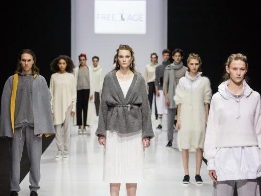 Новая коллекция FREE AGE на подиуме Недели моды в Москве