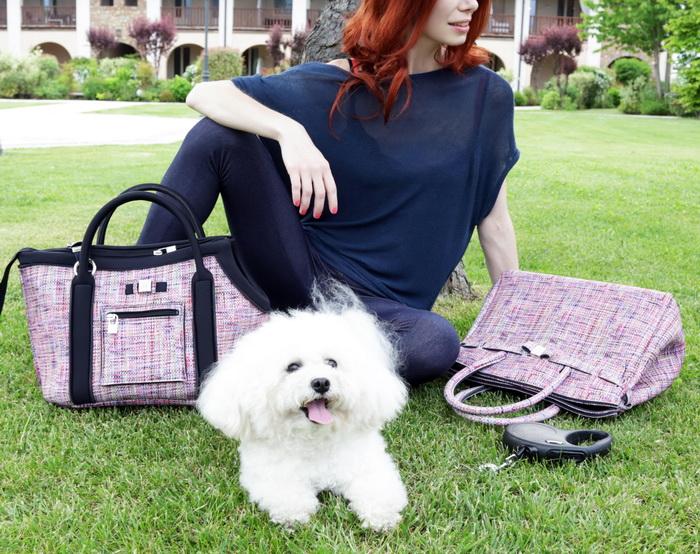 Save my dog! Итальянский брендSaveMyBag выпустил капсулу сумок-переносок для маленьких собак и щенков.