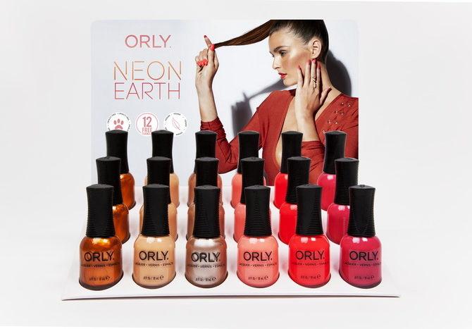 Новая коллекция лаков Neon Earth от ORLY