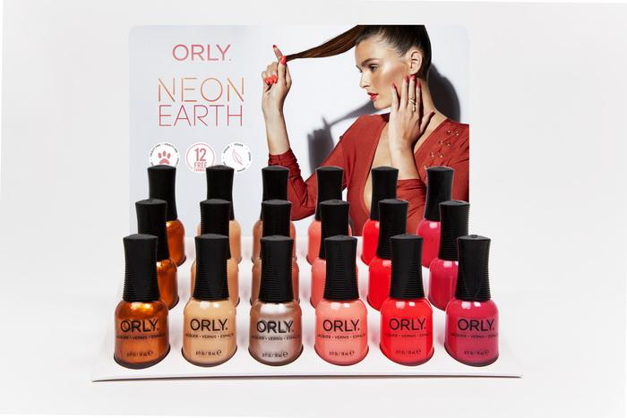 мНовая коллекция лаков Neon Earth от ORLY