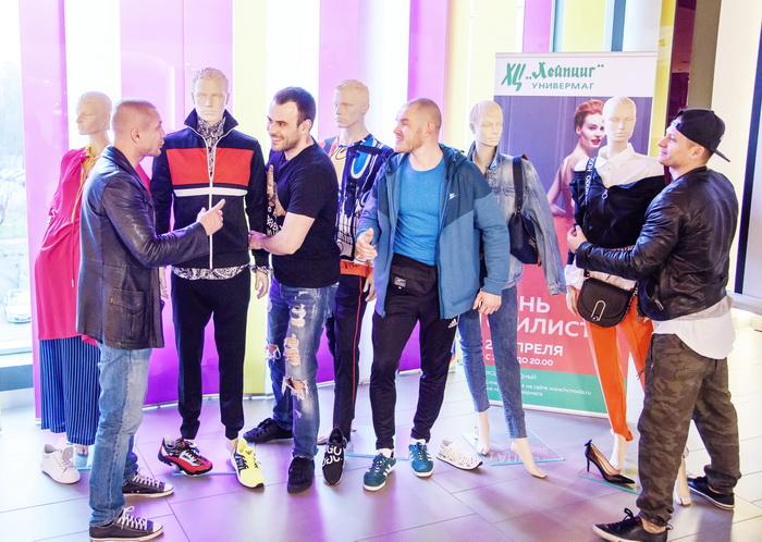Блогеры The Братья устроили модную ревизию мужской одежды в Универмаге ХЦ «Лейпциг»