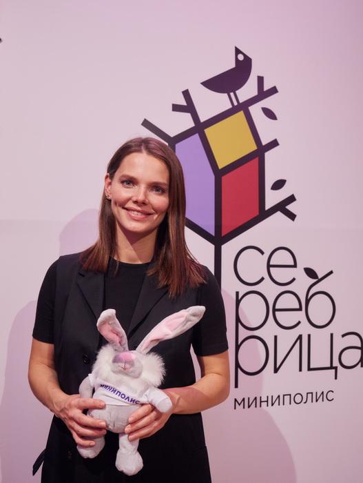 Елизавета Боярская провела мастер-класс по сценической речи для жителей миниполиса в Строгино