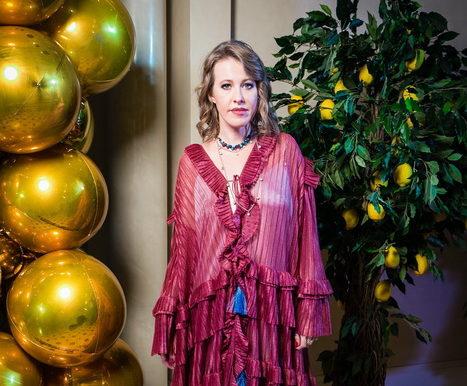 Милана Тюльпанова организовала благотворительный аукцион, который провела Ксения Собчак