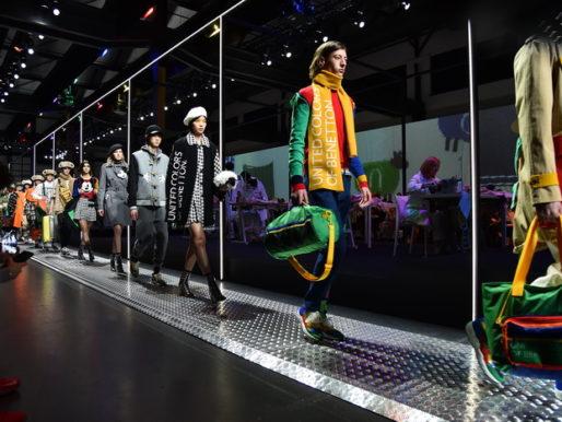 Бренд United Colors of Benetton впервые открыл Миланскую неделю моды показом RAINBOW MACHINE