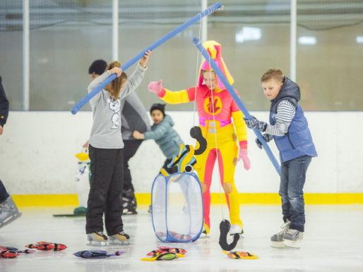 Традиционный зимний праздник «Сити-XXI век» на ледовой арене Дворца спорта «Янтарь»
