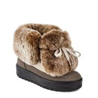 Стразы и мех в новой коллекции обуви Jog Dog