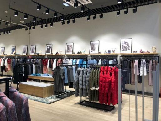Первый магазин EMKA в сетиТЦ «Мега»