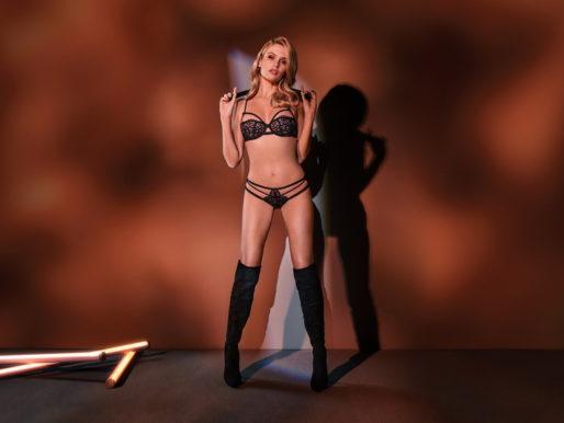 Эротическое искусство шибари – в провокационной линейке нижнего белья