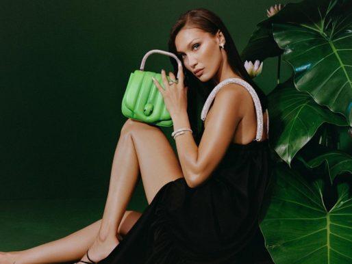 Must have: ярко-зеленая сумка как у Беллы Хадид